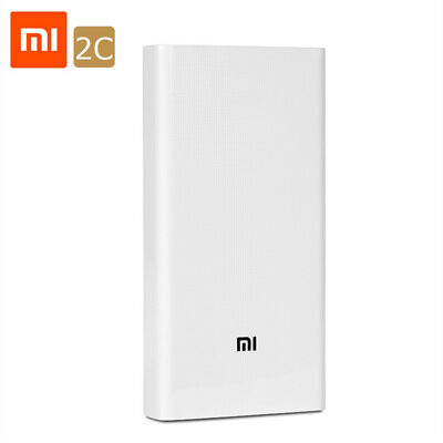 Original 20000mAh Xiaomi Power Bank External Battery Portable Charger Dual USB