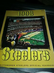 PITTSBURGH-STEELERS-1998-OFFICIAL-YEARBOOK-MINT