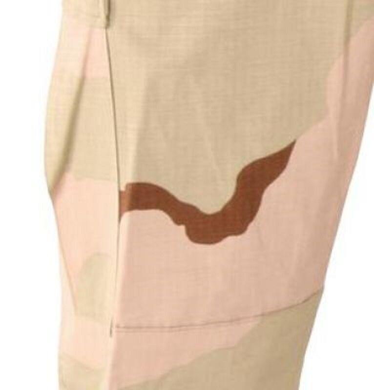 US Army DCU Desert Combat PANTS Uniform BDU PANTS Combat TROUSERS Pantaloni Tarn Medium Long d6c722