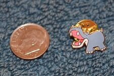 Disneyland JUNGLE CRUISE HIPPO GWP Map Mini Pin - Disney Pins