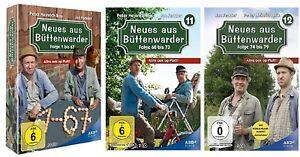 Neues aus Büttenwarder Staffel 1-12 DVD Set Folge 1 bis 79 Box 1-10+11+12 NEU