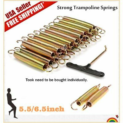 """6.5/"""" Galvanized Steel Trampoline Springs Pack of 15"""