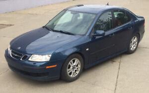 LOW KILOMETRES: 2006 Saab 9-3 2.0T 4 Door Sport Sedan