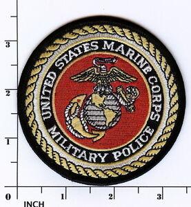 USMC Military Police color PATCH Marines MP Eagle-Globe-Anchor EGA ...