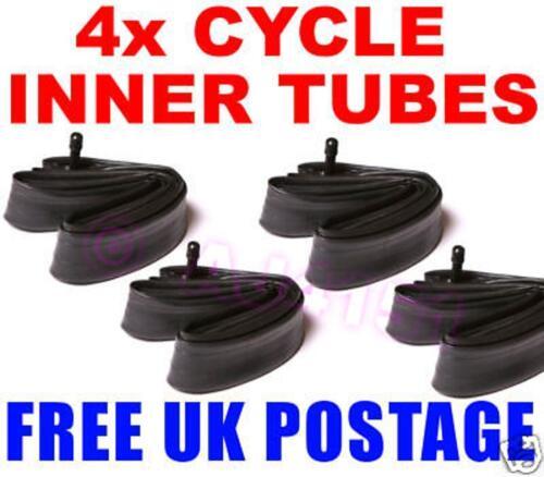 """environ 50.80 cm BMX Vélo Interne Tubes X4 Livraison Gratuite UK 20/"""" 20 in"""