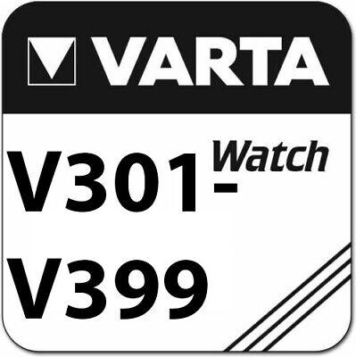 50 x Varta V337 Uhrenbatterien 1,55 V SR416SW 9mAh Batterie Knopfzelle