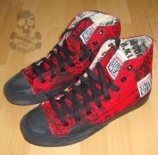 VISION STREET WEAR Skateboard Zapatos Alphabarb 7 UK/8 US Oldschool Clásico NOS