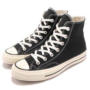 Converse-First-String-Chuck-Taylor-70-1970s-Hi-Black-Canvas-Men-Women-162050C