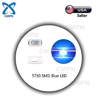 500pcs 5730 SMD LED Diode Lights Red Super Bright Lighting Bulb