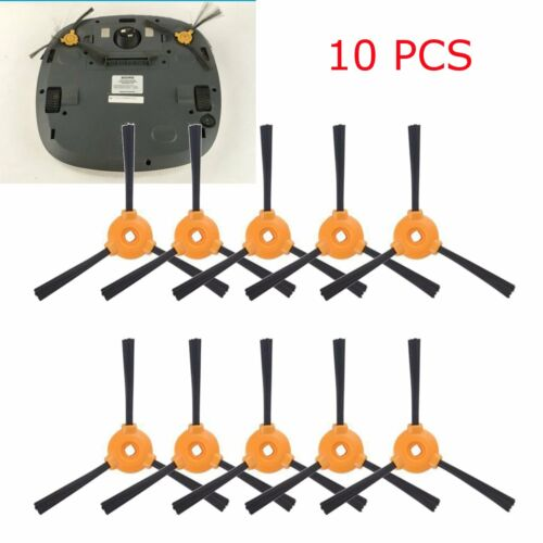 10pcs Side Brushes Kit For Ecovacs DEEBOT N79 N79S Robotic Vacuum Cleaner