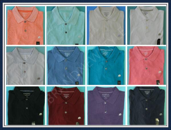 Banana Republic Short Sleeve 100 Cotton Mens Pique Polo Shirt