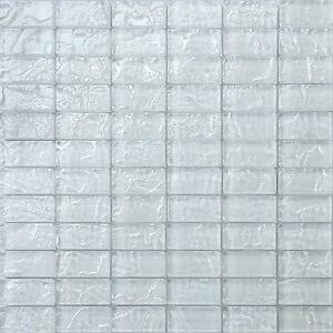 Surprising Details About Glass Mosaic Wall Tiles Textured Lava Pearl White Brick Bathroom Gtr10118 Home Interior And Landscaping Pimpapssignezvosmurscom
