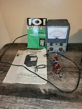 New Listingallied Radio Corp Vacuum Tube Voltmeter Knight Test Meter Powers On With Manual