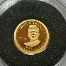SAMOA 5$ OR PUR 999,9 /GOLD J.F KENNEDY 2013 0,50G