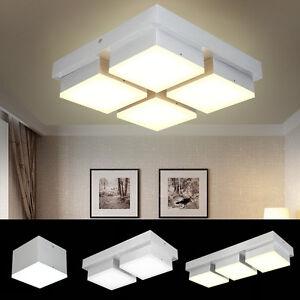 Deckenleuchte Flurleuchte Deckenlampe Wohnzimmer Küche Design LED ...