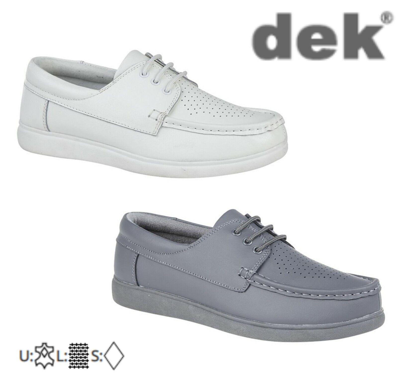 Bowls - Unisex Leather Lace Up Bowling shoes White Grey Size 5 6 7 8 9 10 11 12