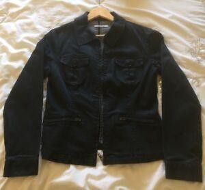 Ladies-Papaya-Denim-Jacket-Size-12