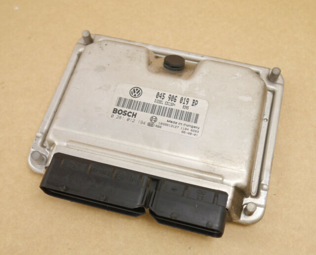 VW Polo 9N Steuergerät Motorsteuergerät 1,4 TDI 51Kw BNM 0281012194 045906019BP