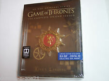 Game of Thrones: The Complete Second Season (Blu-ray Disc, 2015, 5-Disc Set, Includes Digital Copy SteelBook)