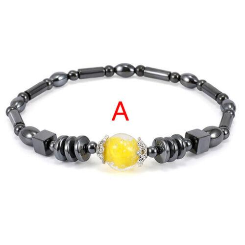 Hématite Stone perte de poids bracelet de cheville thérapie minceur santéIH