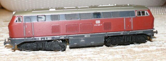 K23 Märklin 3075 Diesellok BR 216 025-7 DB ohne OVP