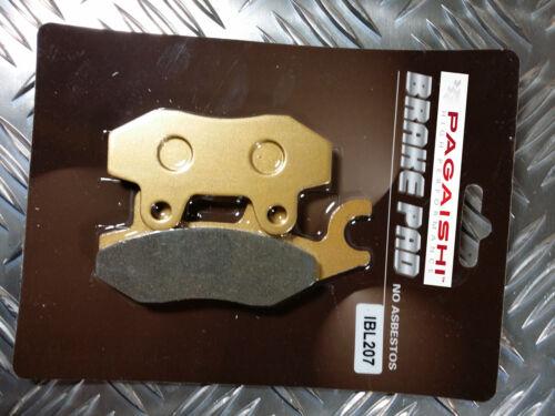 SEMI METAL REAR BRAKE PADS FOR LEONART Spyder 125 R