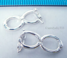 1x STERLING SILVER BRIGHT PEARL SHORTENER ENHANCER CLASP CONNECTOR #1811
