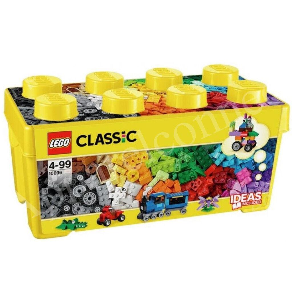Nouveau LEGO Classic Med Creative Blocs de construction 35 Couleurs Avec Bâtiment Idées Inc