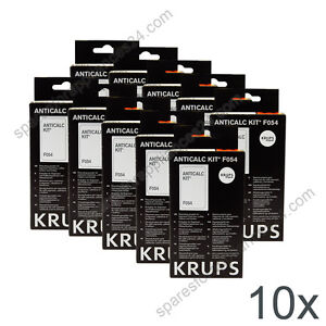 Details About 10x Krups F054 Anticalc Kit Descaler Coffee Espresso Machine F0540010 F054001b
