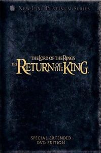 Dvd the lord of the rings: the return of the king special.