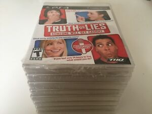 Truth-or-Lies-Sony-PlayStation-3-2010-PS3-NEW