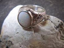WMM Werner Müller Mannheim Art De-Co Opal Ring 935 Silber