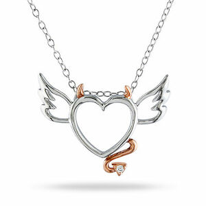Sterling-Silver-Diamond-Accent-Devil-Heart-Pendant-Necklace