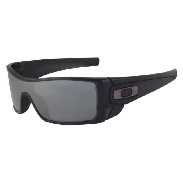 c3d7433e353 Oakley OO 9101-35 POLARIZED BATWOLF Matte Black Iridium Lens Mens Sunglasses