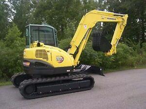 yanmar vio 75 excavator mini digger workshop manual ebay rh ebay co uk