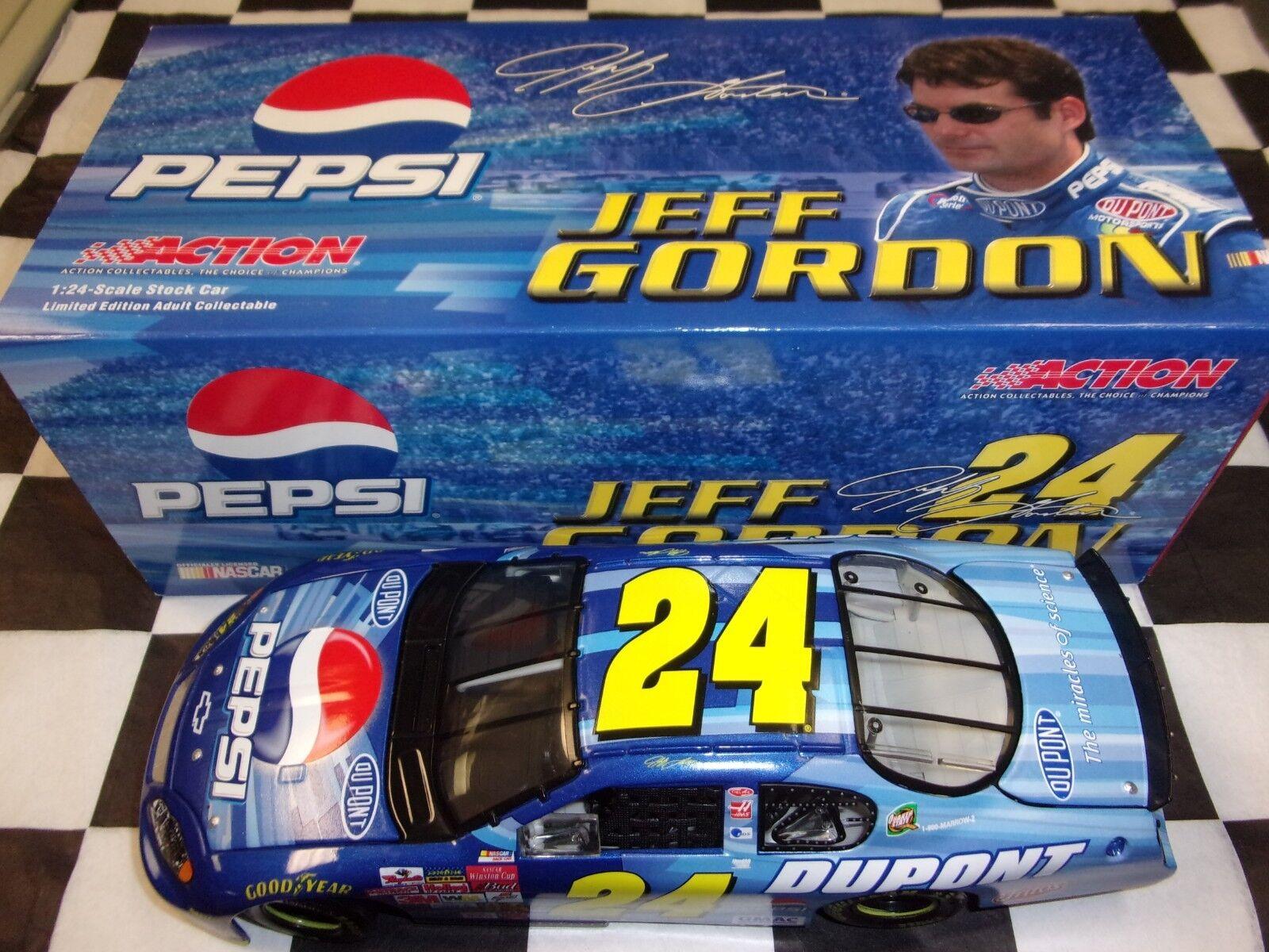 Jeff Gordon  24 Pepsi Tailledega 2003 MONTE CARLO Action échelle 1 24 Voiture Nascar