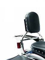 Kawasaki Vulcan 900 Classic & Lt Passenger Backrest Frame & Studded Pad Kit