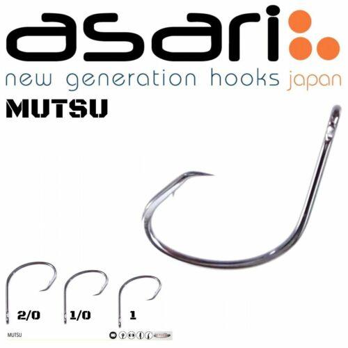 ASARI SALTWATER FISHING OFFSET CIRCLE HOOK MUTSU 25pcs