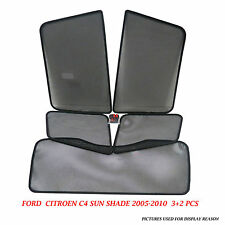 BRAND NEW CITROEN C5 SUN SHADE SET / SUNVISOR SET OF 5 / 3+2 PCS 09-11