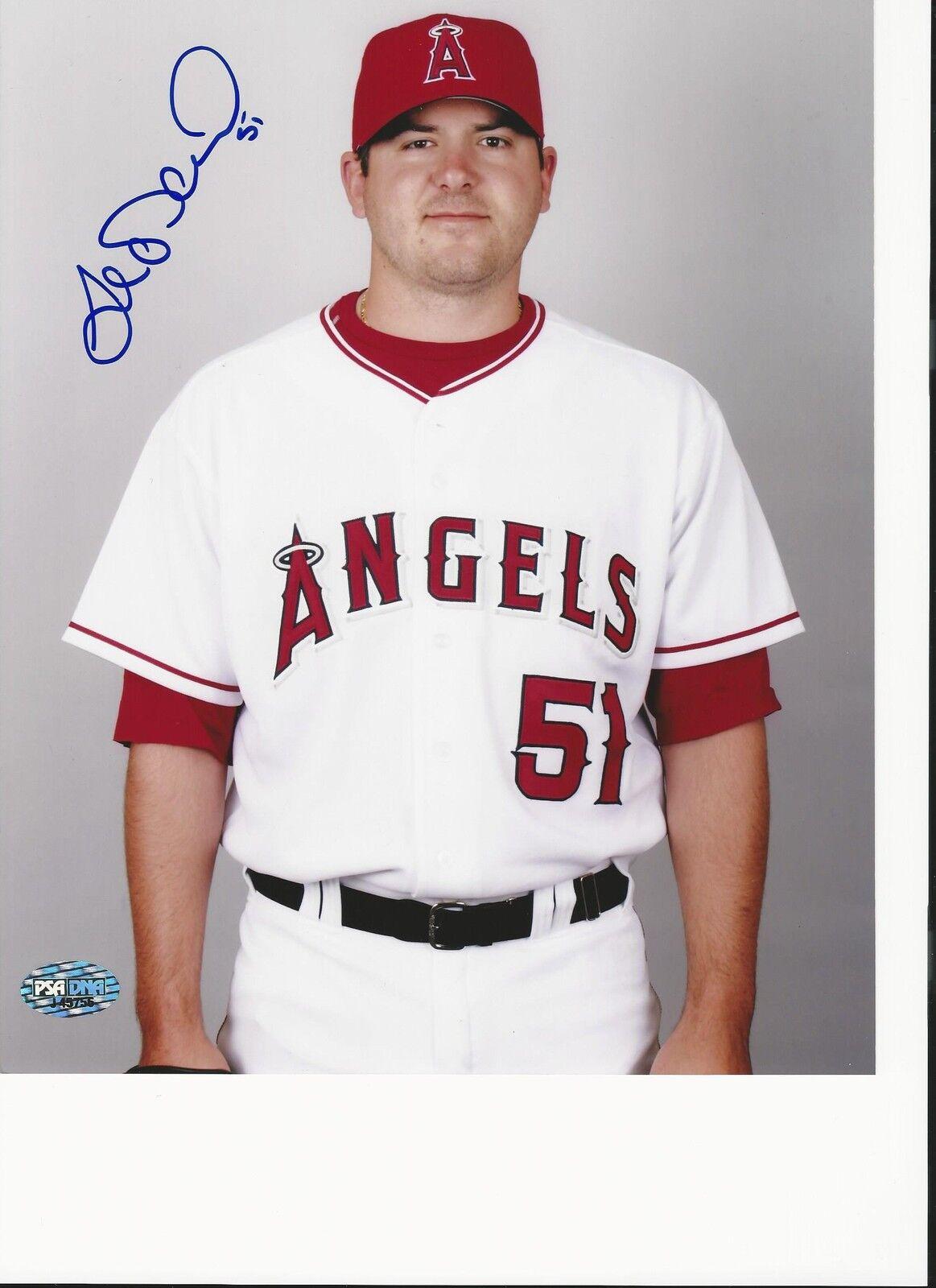 Anaheim Angels Joe Saunders Signed 8x10 Photo PSA/DNA # J45756