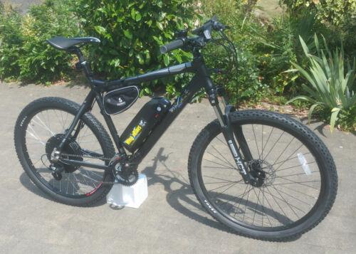 Wing Black Trakener 1000w 48V 12ah 1700w 52v 17.5ah 40mph+ Electric Bike