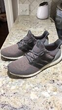 90c5654e68ee5 Adidas Ultra Boost 3.0 Primeknit Gray Trace Pink Mens Size Shoes Sneakers  S82022