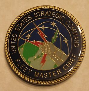 Details about US Strategic Command STRATCOM Fleet Master Chief Military  Challenge Coin