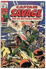 Captain Savage #13 (Marvel 1969 fn+ 6.5) guide value in this grade $10.00 (£8)