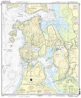Noaa Chart Anacortes To Skagit Bay 24th Edition 18427