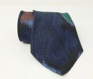 Cravatta-gianni-versace-100-pura-seta-tie-made-in-italy-original-vintage-handma