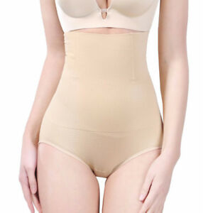 2cc7f66e9 Women High Waist Tummy Control Cincher Seamless Slim Underwear Body ...
