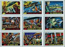 Topps Mars Attacks Heritage 55 Card Set + Deleted Scenes + New Universe Sets 80