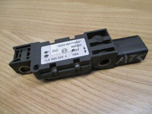 AIRBAG CRASH Sensor VW Phaeton Touareg 7L0909606A Beschleunigungssensor