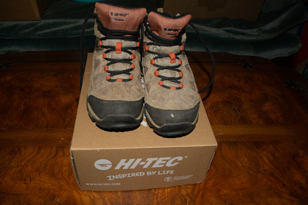 Hi-Tec Altitude Life JR Hiking Boots Waterproof  sz 2Y Smokey Brown  select from the newest brands like